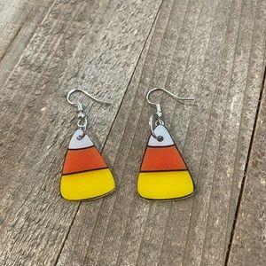 Halloween Candy Corn Earrings
